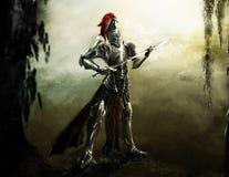 легион рыцаря Стоковое Изображение RF