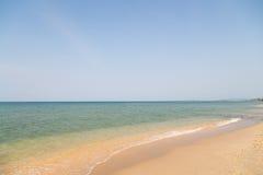 Легкая волна на океане стоковое фото rf
