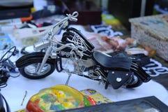 Легкая реплика мотоцикла всадника как ремесленничество стоковая фотография rf