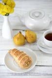 Легкий десерт Стоковые Фото