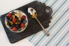 Легкий десерт лета Стоковые Изображения RF