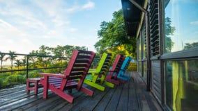 Легкое место для ослабляет с славным цветом предпосылки Стоковые Изображения RF