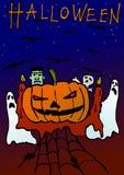 легко редактируйте ночу изображения halloween для того чтобы vector бесплатная иллюстрация