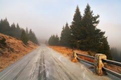 ледистая дорога Стоковые Фотографии RF
