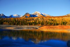 ледистое озеро Стоковые Фото