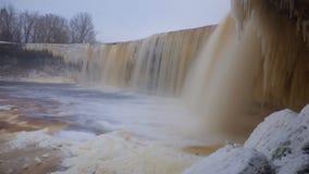 Ледистое scape водопада Стоковое Изображение RF