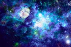 ледистый космос Стоковое Фото