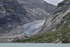 Ледистый ледник сини мяты стоковое фото rf