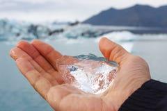 ледниковая часть льда Стоковые Изображения
