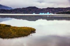Ледниковое озеро в феврале Стоковая Фотография RF