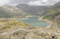 ледниковое озеро folgefonna Стоковые Фото