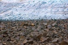 ледниковый до, изменение климата, климатические изменения, плавя лед Стоковая Фотография RF
