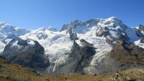 Ледник долин и скалистые горы Стоковые Изображения RF