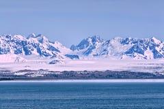 ледник залива Аляски Стоковое Изображение