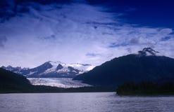 ледник залива Аляски Стоковые Изображения