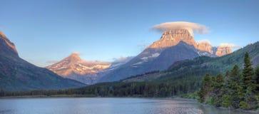 ледник много панорама Стоковые Фотографии RF