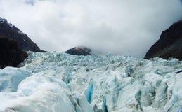 ледник Новая Зеландия стоковое изображение rf