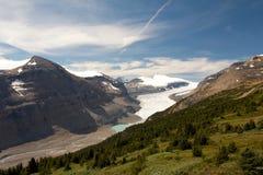 Ледник Саскачевана Стоковое фото RF