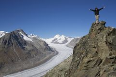 ледник Стоковое Изображение