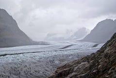 Ледник Aletsch стоковое изображение