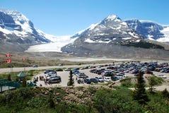 ледник columbia Стоковая Фотография