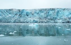 Ледник Esmark, Шпицберген (Шпицберген) Стоковые Изображения RF