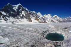ледник hispar Стоковое Изображение RF