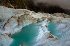 ледник joseph Новая Зеландия franz Стоковая Фотография RF