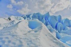 Ледник Moreno стоковые фотографии rf