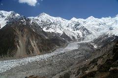 Ледник Nanga Parbat Стоковые Изображения