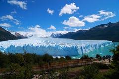 Ледник Puerito Moreno Стоковое Изображение RF