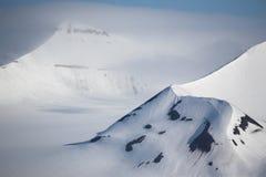 ледовитая гора ландшафта стоковая фотография rf