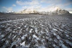 ледовитая приполюсная станция svalbard spitsbergen стоковые фото