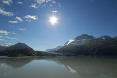ледовитое солнце Стоковое фото RF