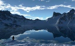 Ледовитый день Стоковое фото RF