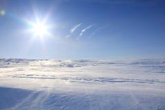 ледовитый ландшафт Стоковые Фотографии RF