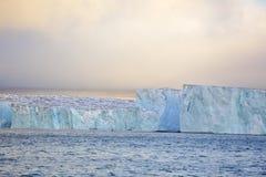 Ледовитый ледник Стоковая Фотография