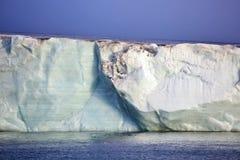 Ледовитый ледник Стоковая Фотография RF