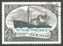 Ледокол Semyon Dezhnev Стоковое Изображение