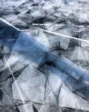 Лед Байкала Прикарпатская Россия Европа стоковые фотографии rf