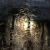 Лед горящий стоковое изображение rf