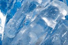 Лед - холодная предпосылка Стоковые Фото