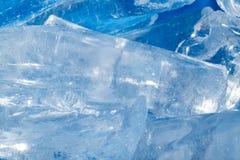 Лед - холодная предпосылка Стоковая Фотография RF