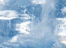 Лед - холодная предпосылка Стоковая Фотография