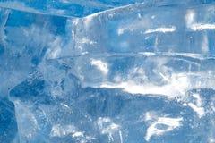 Лед - холодная предпосылка Стоковое Изображение