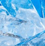 Лед - холодная предпосылка Стоковое фото RF