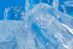Лед - холодная предпосылка Стоковые Изображения RF