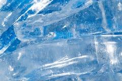 Лед - холодная предпосылка Стоковые Изображения