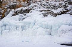 Лед Lake Baikal Стоковая Фотография