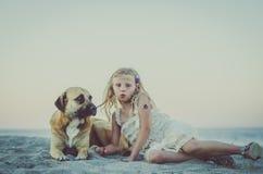 Лежать в пляже стоковое фото rf